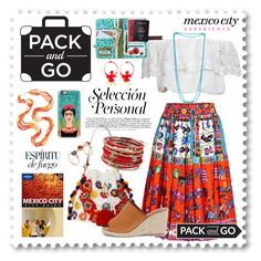 """Pack and Go: Mexico City experience"" by wafa-lachaal ❤ liked on Polyvore featuring Casetify, Glamorous, Disaster Designs, Stella Jean, Patricia Nicolas, Dolce&Gabbana, Jacobies, Lonely Planet, Amrita Singh and Daniela Villegas"