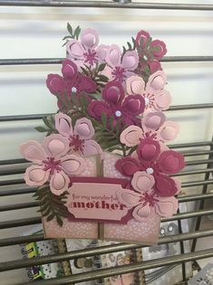 KraftingK, at Our Creative Den: Mothers Day Cascade Card