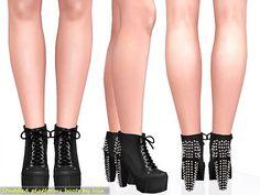 Sims 3 shoes, high heels, fashion, female