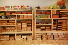 The block center is one of the most favored center by children and is one of the most inventive play areas for the children. So I plan to have plenty of blocks for the children. Block Center Preschool, Preschool Set Up, Preschool Centers, Preschool Science, Play Based Learning, Learning Spaces, Learning Centers, Daycare Organization, Block Play