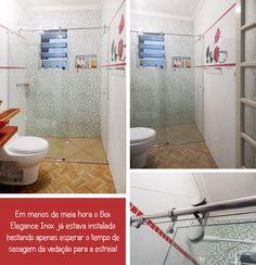 Banheiro Decorado Fica Mais Bonito! Antes e Depois Ideia Glass Blog Remobilia