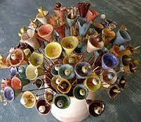 flores de ceramica - Pesquisa Google