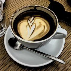 Coffee at Printa Budapest