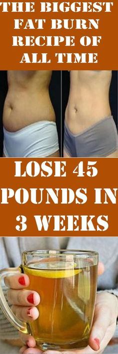 How to lose 45 pounds