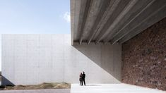 Image 1 of 64 from gallery of Crematorium Siesegem / KAAN Architecten. Photograph by Sebastian van Damme Van Damme, Contemporary Architecture, Architecture Details, Oasis, Architect Design, Countryside, Entrance, Concrete, Exterior