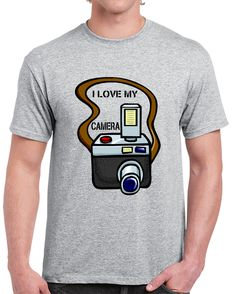 I Love My Camera   T Shirt