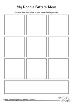 Language Arts Blank Storyboard Templates  Kids And Language Arts