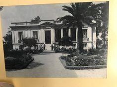 Το νεοκλασικό βρισκόταν στην Πατησίων 337 έως το 1956. Αρχιτέκτων ο Αναστάσιος Χέλμης, αρχιτέκτων και του Μεγάρου Μαξίμου. Κατεδαφίστηκε το '56 και στη θέση του χτίστηκε η πολυκατοικία «Χαρά»,πρωτοποριακή για την εποχή αλλά καμμία σχέση με το Μέγαρο που αντικατέστησε.