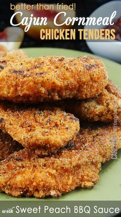 Cajun Cornmeal Chicken Tenders