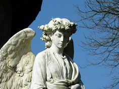 St. Hubert's churchyard at Dunsop Bridge, #England #angel #dontblink