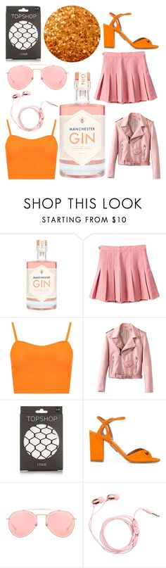 """""""Daddy's Girl Getting Crunk"""" by tatianabilly ❤ liked on Polyvore featuring WearAll, Topshop, Aquazzura and Dita"""