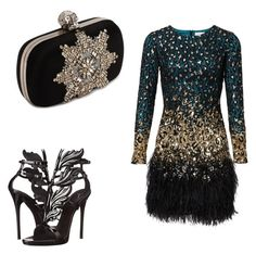 """""""Don't leave the Dance Floor!!"""" by shesreadyinc on Polyvore featuring Giuseppe Zanotti and Alexander McQueen"""