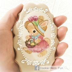 icingcookies#sugarcookies #アイシングクッキー#Easter Bunny