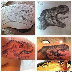 dinosaur tattoo - Google Search