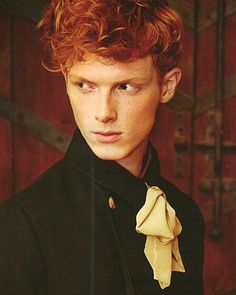 Ezra Beckett Bowes-Lyon, Lord Glamis Talents: medicine and memory Cute Ginger, Ginger Boy, Ginger Hair, Red Hair Boy, Dark Red Hair, Red Hair Model, A Darker Shade Of Magic, Redhead Men, The Secret History