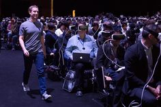An awesome Virtual Reality pic! I can't tell if I'm excited or afraid. #virtualreality #vr #scary #future #tooreal #markzuckerberg #facebook #rift #oculus #samsung by untouchablenyc check us out: http://bit.ly/1KyLetq