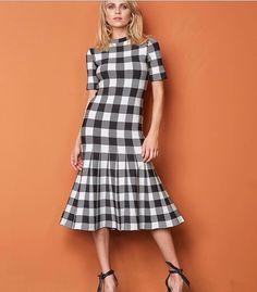 54 melhores imagens de vestidos xadrez  88bbb6f556d