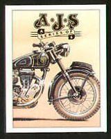 Motorcycles - Models 20 8 This is one of many illustrated classic motorcycle guides I've created for the community. I hope you enjoy it. If you wish to find out more about the classic. Ajs Motorcycles, Motorcycle Posters, Collector Cards, Custom Bikes, Card Sizes, Motorbikes, Art Quotes, How To Find Out, Classic Cars