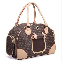New Designer Luxury PU Leather Dog Carrier Bag Pet Tote Quality Small Dog/Cat Carrier Bag Outdoor Portable Dog Carrier Handbag Zapatillas Louis Vuitton, Dog Carrier Bag, Airline Pet Carrier, Dog Purse, Pet Bag, Yorky, Outdoor Dog, Outdoor Travel, Dog Accessories