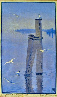 Eva Roemer (1889-1977)  German painter and woodblock printer