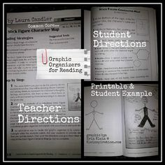 """Thanks to Erin Klein for writing this terrific review of Power Reading Workshop and Graphic Organizers for Reading. I'm repinning her pin which stated, """"Must Have Books for Reading Workshop! If you teach reading workshop, you will LOVE these 2 books.  They are my favorite go to resources for planning and teaching.  Every teacher should have these two books - tons of printables, student examples, and step by step mini-lessons."""" ($) ~ Laura Candler"""