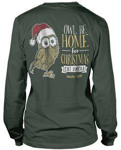 Chi Omega Christmas T-shirt