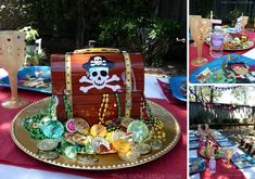 Jake And The Neverland Pirates Birthday Party Ideas & Jake and the neverland pirates girl party Birthday Party Ideas ...