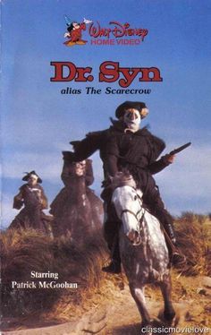 DR. SYN THE SCARECROW OF ROMNEY MARSH 1964 DVD Rare Movie Classic All Regions
