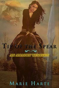 Tip of the Spear by Marie Harte Review, Amazon Western Series, Futuristic Western adventure Romance