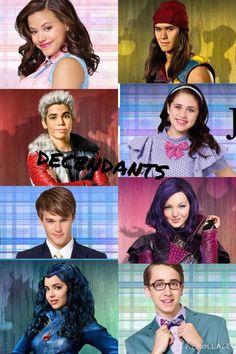 Disney Descendants couples OTPS babies # my little cinnamon roll babies! Disney Channel Descendants, Disney Descendants 3, Descendants Cast, Descendants Characters, Disney Memes, Disney Films, Disney Villains, Disney And Dreamworks, Cameron Boyce