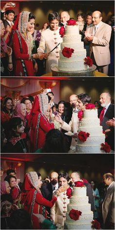 A New Trend has emerged ;cake Cutting Ceremony After #Nikah.  http://www.shaadi.org.pk/