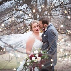In love with Kathryn & Alex's romantic February wedding!! So pretty! #wwtapestryhouse #wedgewoodweddings #February #winter #colorado #weddings #instawedding #twinklelights #love #justmarried