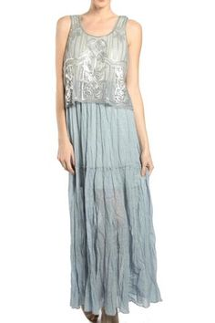 39.99$  Buy now - http://viltj.justgood.pw/vig/item.php?t=84ep40i36368 - Beaded Maxi Dress 39.99$