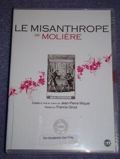 Le misanthrope [videorecording (DVD)] / director: Francis Girod, [stage director] Jean-Pierre Miquel; [author] Molière. - XTM MOL 6MI 2QT Gir