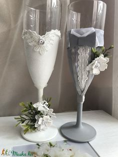 Flute, Champagne, Tableware, Diy, Dinnerware, Bricolage, Flutes, Dishes, Handyman Projects
