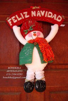 boneco de neve de porta   encomendas pelo email: bonekika@gm…   Flickr