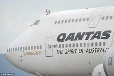 A Qantas jumbo jet has made history after landing at a regional airport in New South Wales to become the first boeing in the world to go on public display. Boeing 747 400, Airplane Flying, Best Airlines, Jumbo Jet, Public Display, Finals, Landing, Pilot, Aviation