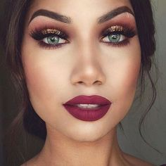 — themakeup-addict:   Gorgeous fall makeup look  by...