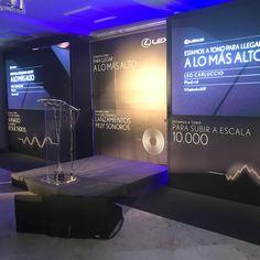 Diseño, fabricación y cobertura audiovisual para convención de Lexus