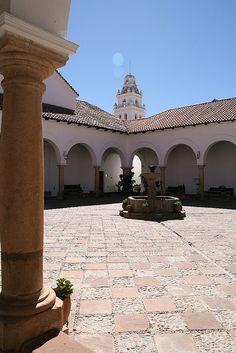 Recoleta Monastery, Sucre, Bolivia