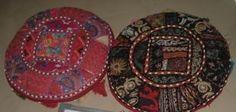 "Tassle/Beaded floor/seat cushions. 18"" dia. Floor Seating, Ottomans, Seat Cushions, Decorative Plates, Flooring, Home Decor, Homemade Home Decor, Sitting Cushion, Wood Flooring"