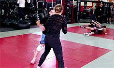 sifu-taichi-kungfu: Ronda Rousey just doing her...