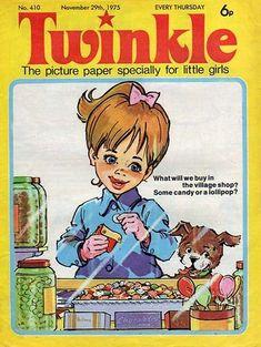 1970s Childhood, Childhood Days, Retro Toys, Vintage Toys, Vintage Children's Books, Vintage Comics, Children's Comics, The Good Old Days, Twinkle Twinkle