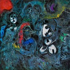 Marc Chagall ~ Le Cirque, Paris 1967 | Tutt'Art@ | Pittura * Scultura * Poesia * Musica |