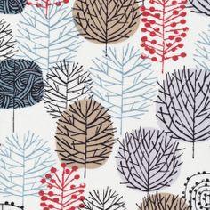 Cloud9 Fabric - Bark & Branch - Winter Woodland von HüllenReich & Dein NähReich auf DaWanda.com