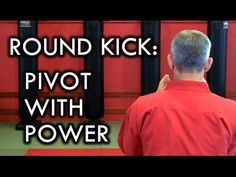 Round Kick/ Turning Kick Tip: How to Pivot with Power Martial Arts Techniques, Self Defense Techniques, Martial Arts Workout, Martial Arts Training, Mma Boxing, Boxing Workout, Wing Chun Martial Arts, Karate Club, Roundhouse Kick