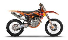 KTM announces the release of the 2nd generation KTM 450 SX-F Factory Edition motorcycle developed in collaboration with the Red Bull KTM Team and KTM's R in the US and Austria. Each special edition model comes with a limited edition sticker that lists a model number for the unit out of the 555 models produced