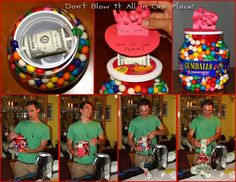 A fun and creative way to give money as a gift!