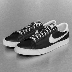 legendarische Nike Tennis Classic AC Sneakers Black/White/Gum (zwart/wit/bruin)