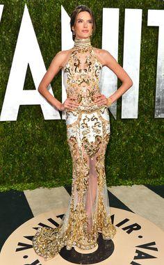 Alessandra Ambrosio from 2013 Vanity Fair Oscar Party | E! Online